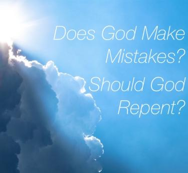 Does God Make Mistakes? Clouds and sun