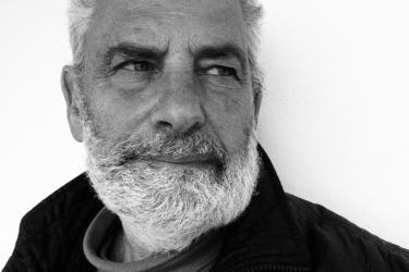 Photographer Laurence Salzmann Headshot, Black & White