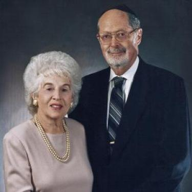 Rabbi Daniel and Ida Goldberger