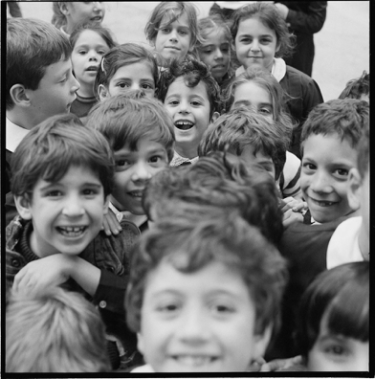 Photograph of children from Laurence Salzmann's collection