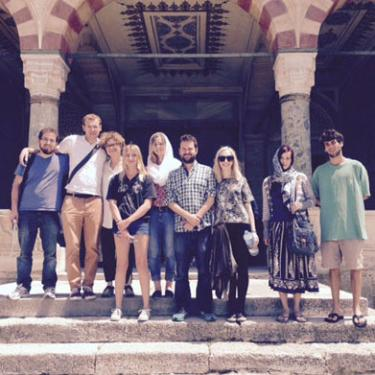 Students on the 2015 Global Seminar to Istanbul