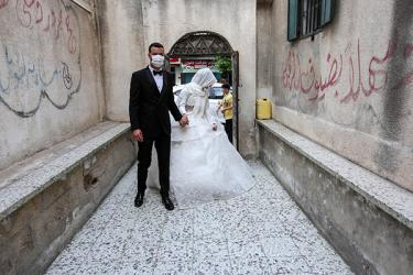 Wedding Couple Covid
