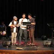 Hebrew students performing