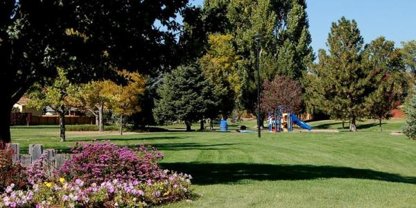 A park in the town of Broomfield.