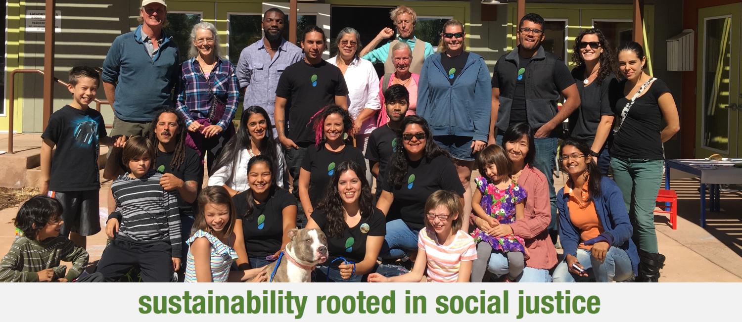 sustainability rooted in social justice