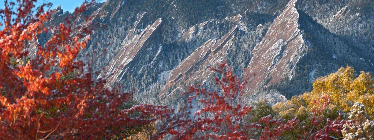 Flatirons with frost