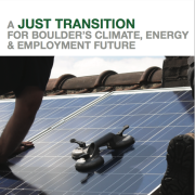 Just transition report
