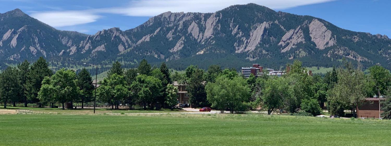 Summer at CU Boulder!