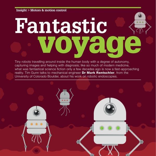 Fantastic Voyage magazine story