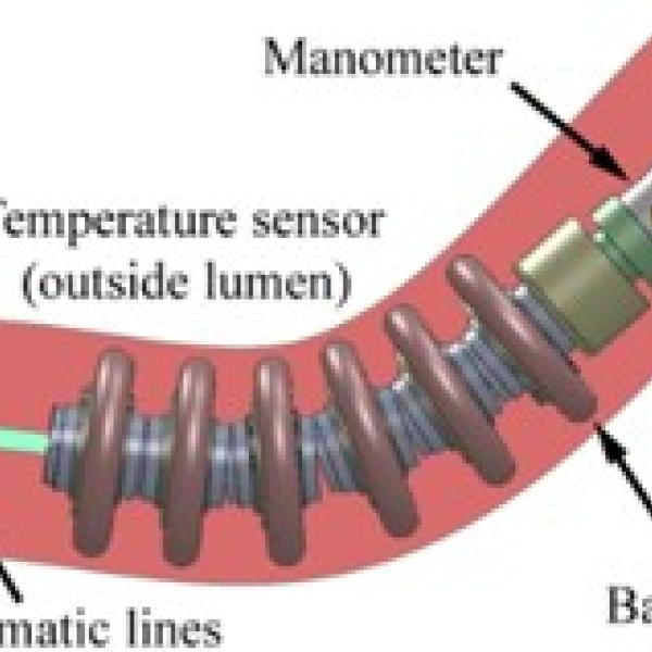 Manometry force sensor (MFS) design to measure peristaltic forces in the small bowel