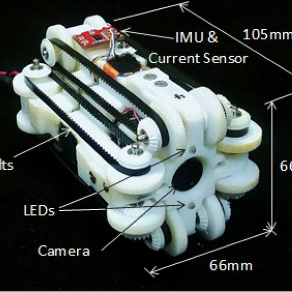 Robotic Endoscope Platform (REP) designed to testing a variety of sensors to enable control in vivo