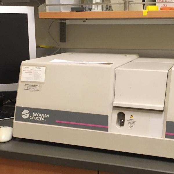 UV/Vis Spectrometer Beckman DU 640