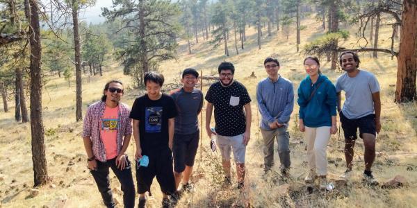 Lab Hiking