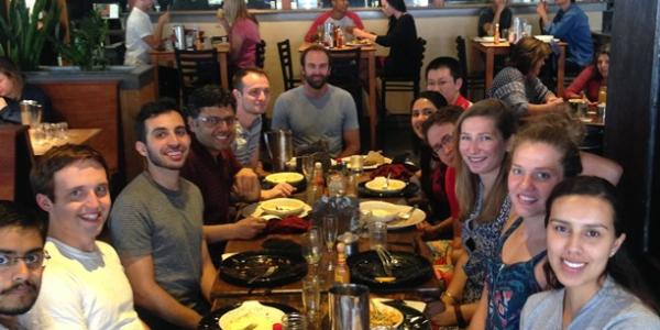 Colleen's farewell lunch