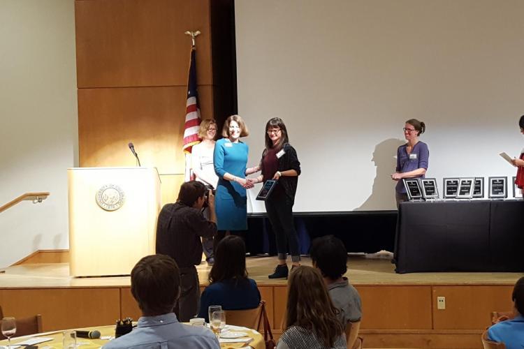 Erin Fried receives award