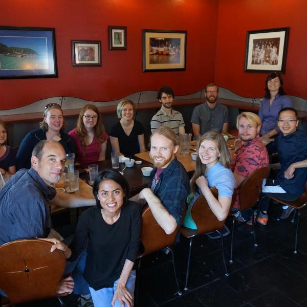 Group Lunch (May, 2016)