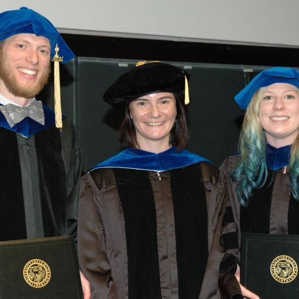 Kyle and Molly Graduate! (May, 2015)