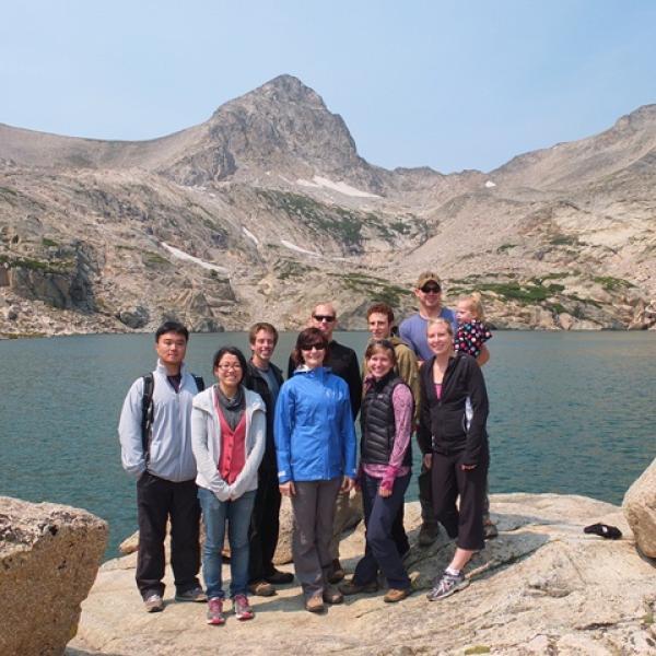 Blue Lake, Indian Peaks Wilderness, Group Hiking Trip (August, 2012)