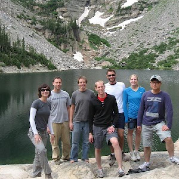 Emerald Lake, Rocky Mountain National Park, Group Hiking Trip (August, 2011)