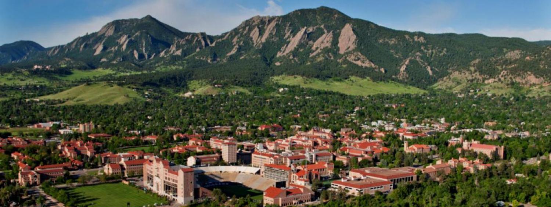 Aerial Shot CU Campus