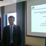 Naveen Penmetsa at MS Thesis Defense