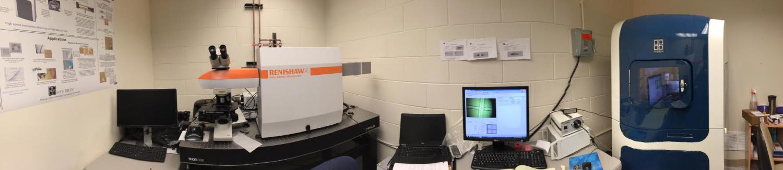 Nanoindenter-Raman Spectroscopy