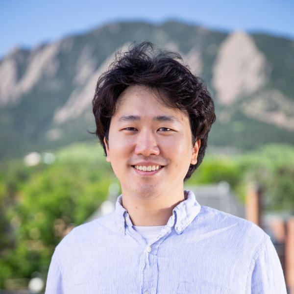 Portrait of Taewook Nam at CU Boulder