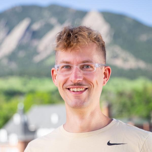 Portrait of Marcel Junige at CU Boulder