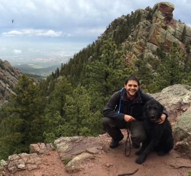 View from Bear Peak hike