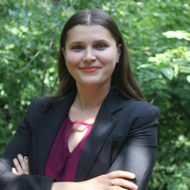 Portrait of Cristina Poleacovschi