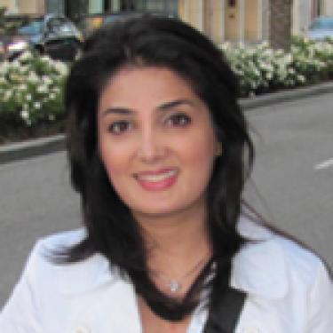 Portrait of Maryam Sanaei