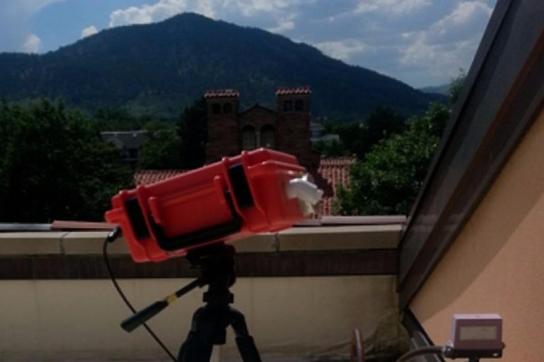 Pod on roof of UMC in Boulder