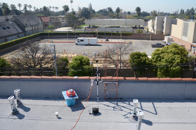 y-pod on LA rooftop