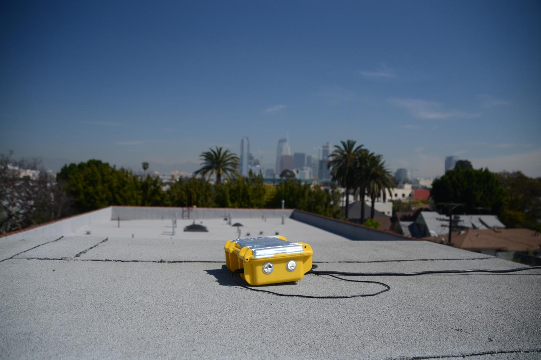 Pod on roof in LA