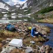 alpine lake, zooplankton, ice-off, Kelly Loria