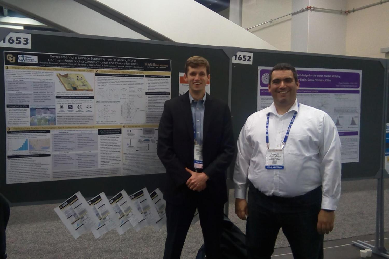 William Raseman and Prof. Kasprzyk