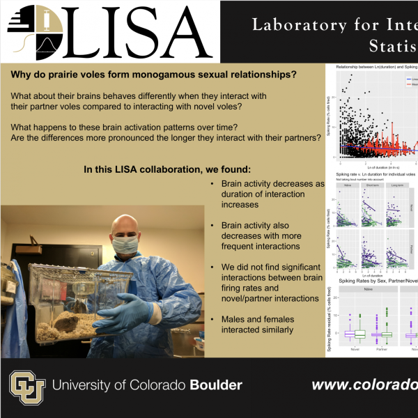LISA's research collaboration on Voles