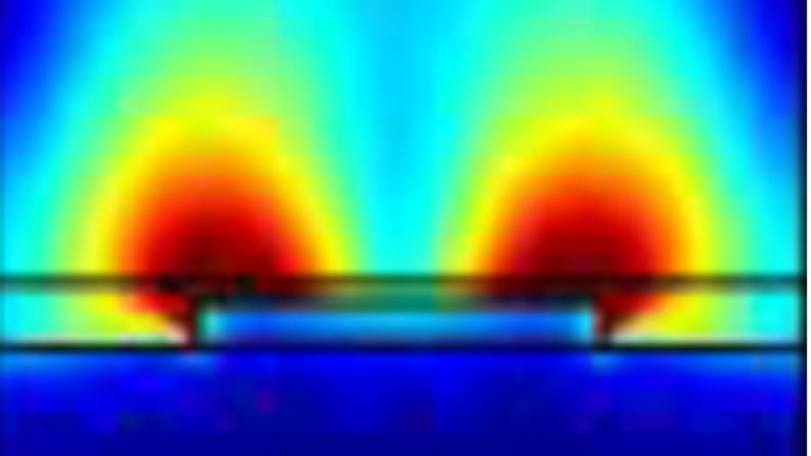 Plasmon enhanced field