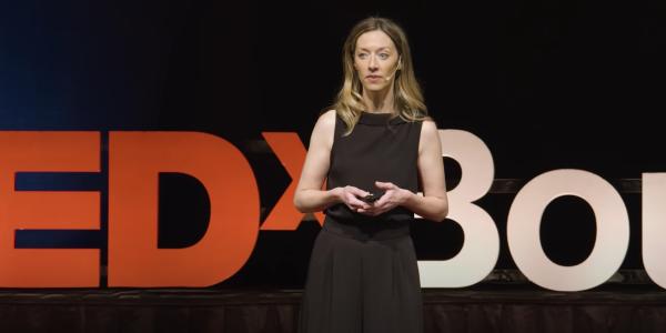 Dr. Kaiser at TEDx talk