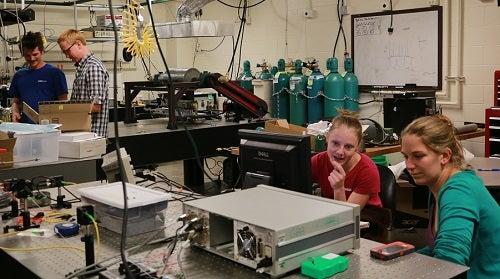 Greg Rieker's laboratory
