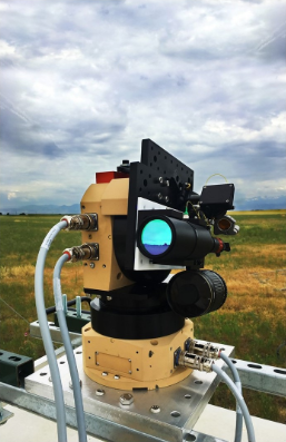 an instrument used to measure the concentration of methane