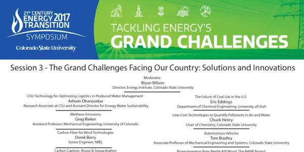 The front page of the Grand Challenges advertisement