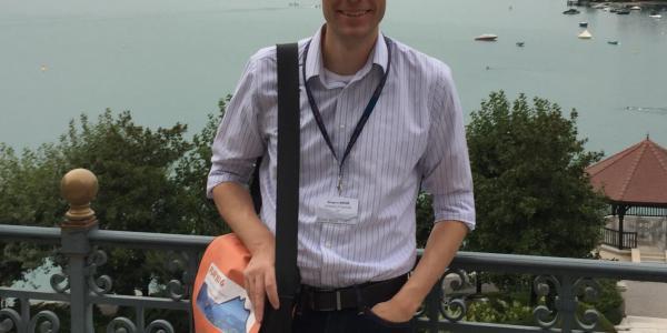 Greg Rieker in France