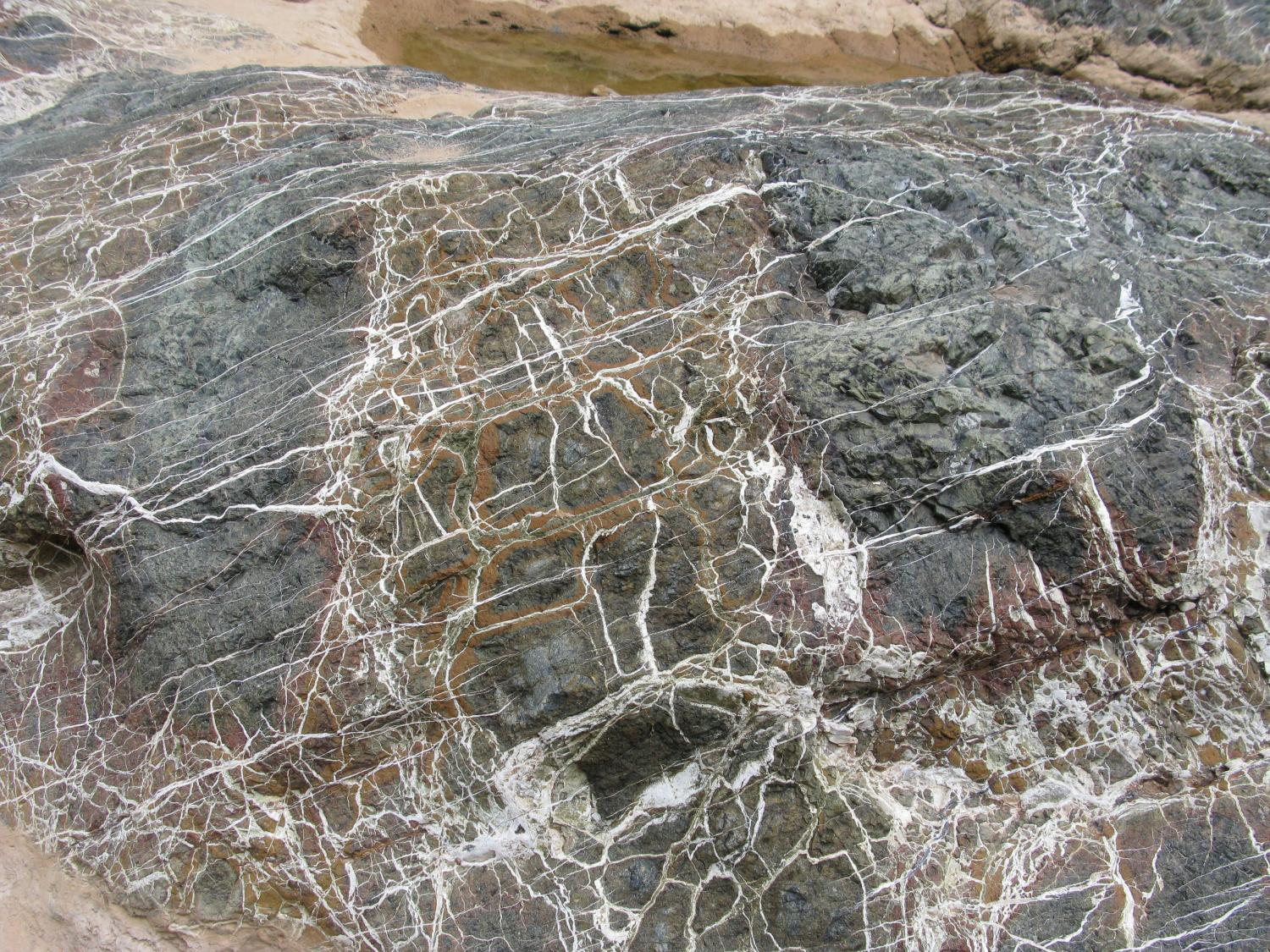 Rock from Tiwi, Samail Ophiolite, Oman