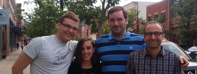 Jake Greenberg, Katelyn Chando, Will Hartwig (former member), Tarek Sammakia