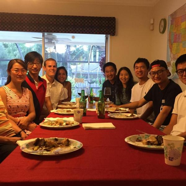 2016.08: Summer party at Dr. Zuo's house