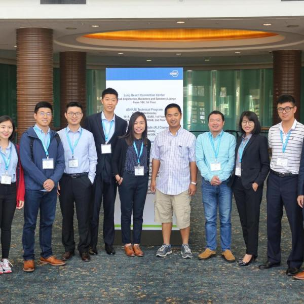 2017.06: Lab members attending IBPSA-USA and ASHRAE annual conferences in Long Beach, CA