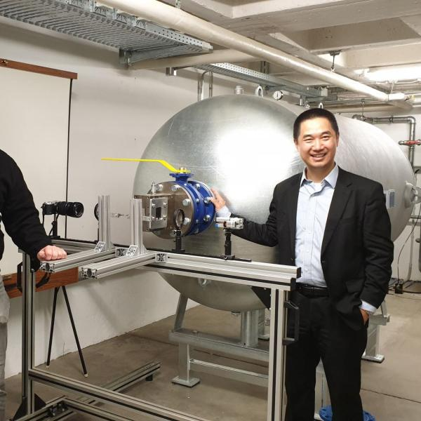 2019.03: Visiting Professor Epple's lab at the Coburg University of Applied Science, Germany