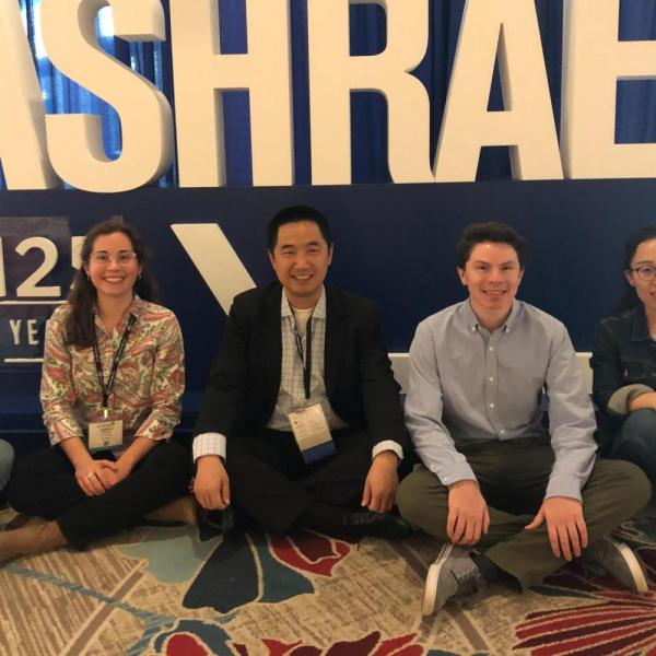 2020.01: Four Ph.D. students receive scholarships to attend ASHRAE Conference with Dr. Zuo in Orlando, FL