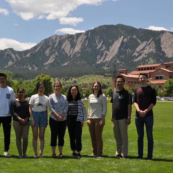 2019.09: Lab photo at CU Campus